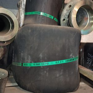 Water hose with flange DN200