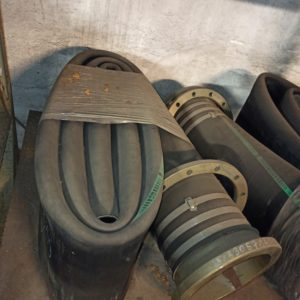 Water hose with flange DN250