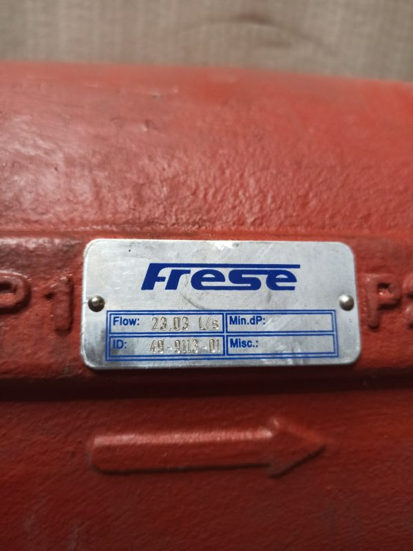 Frese Reduction valve 49-9113-01 DN15