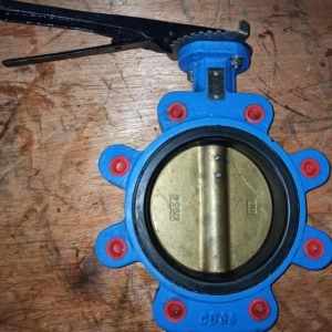 Meson Butterfly Valve DN150 Hand Operated