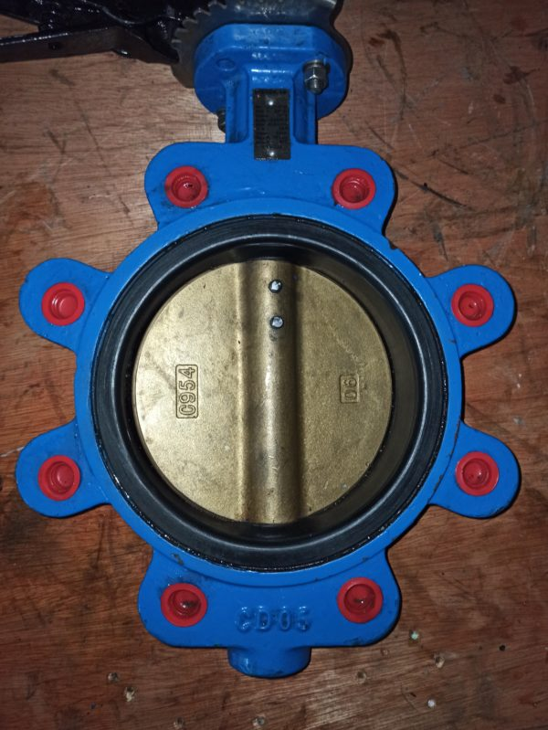 Meson Butterfly Valve DN150 Hand Operated 1