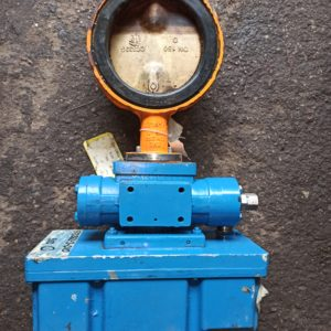 EVS Butterfly valve DN150 with Pleiger actuator EHS