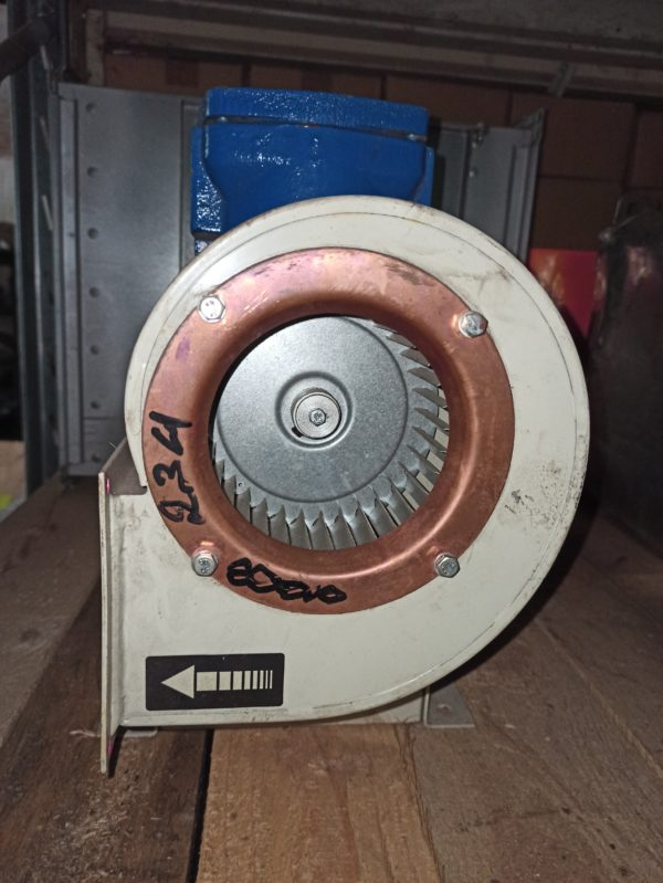Sodeca blower CMP512-2T with Bartec Varnost motor