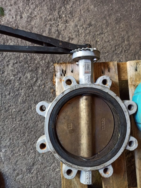 PMA Butterfly Valves manually operated DN200