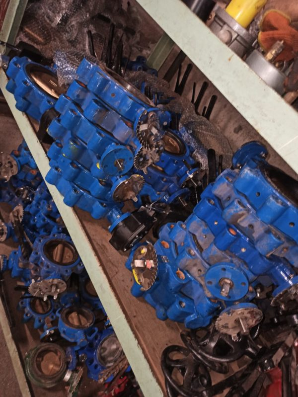 Meson Butterfly Valve DN125 Hand Operated 2