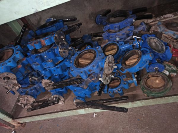 Meson Butterfly Valve DN100 Hand Operated 1
