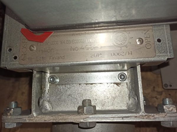 FIRE DAMPER WITH ACTUATOR HALTON BF230-2
