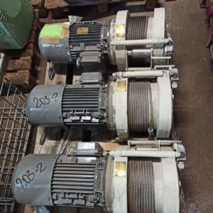 FAMA ELECTRIC ROPE WINCH FOR PLATFORM WLEP-8-L